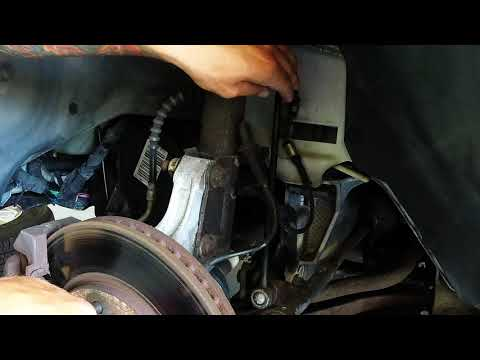 Front end clunk noise when going over bumps