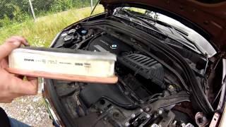 Замена воздушного фильтра BMW X1 xDrive 20d F48 2016(, 2016-07-13T11:19:49.000Z)