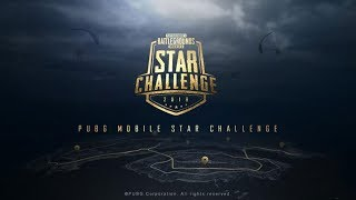 Watching the PUBG Mobile Star Challenge!