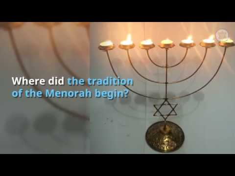 The History \u0026 Meaning Of The Menorah