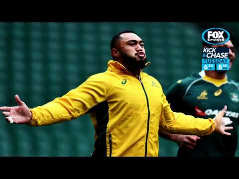 Rugby Kick and Chase: Stephen Moore and Sekope Kepu