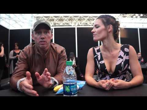 Jeffrey Donovan and KaDee Strickland for Shut Eye at NYCC 2016