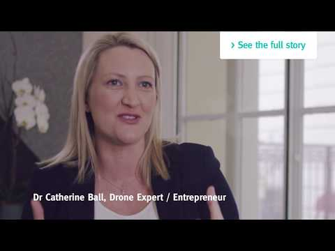 Move Up in the World advertisement – Dr Catherine Ball – drone economy