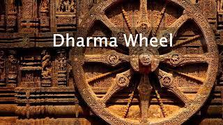 Dharma Wheel Spiritual Symbol  - Divinelight