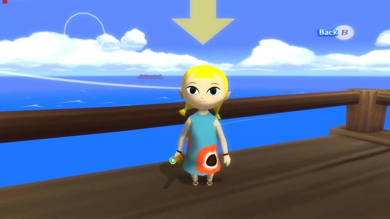 Dolphin Zelda Windwaker WiiU HD mod IshiirukaFX version includes WiiU  textures Plus more!