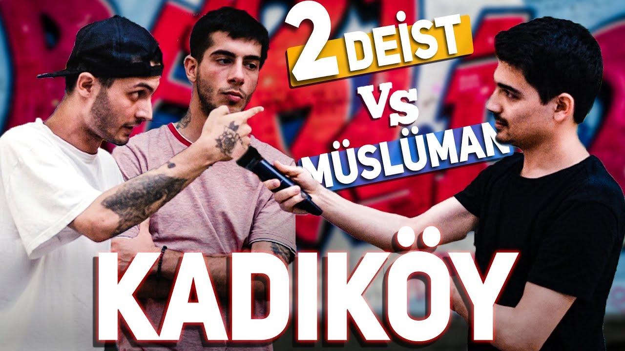 Kadıköy'de 2 Deist ile 1 Müslüman Gencin Tartışması! - ŞEHADET GETİRDİLER Mİ?