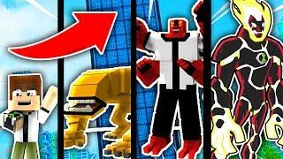 NẾU BEN 10 CÓ CUỘC SỐNG TRONG MINECRAFT !!! (Minecraft Người Trông Trẻ)