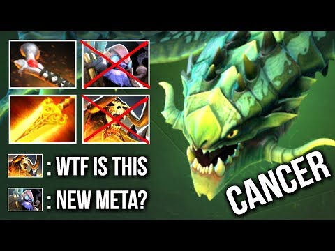 NEW META BUILD Rod of Atos Viper Counter Tinker Mid Insane Gameplay 7.07 Dota 2