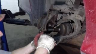 Пежо 407 Peugeot 407 Особенности замены шаровой опоры