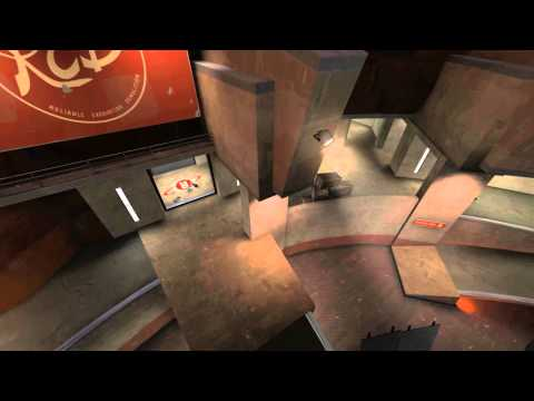 TF2 Engineering Adventures: Sentry on Nucleus, Upper Battlements