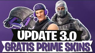 MISE À JOUR 3.0 INFOS FREE PRIME SKINS - France CANON À MAIN, TURBO BUILD FORTNITE BATTLE ROYALE Anglais