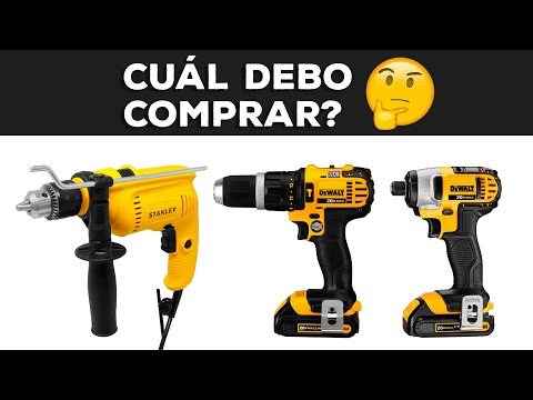 Taladro a cable VS Taladro a Batería VS Atornillador de Impacto - Video comparativo
