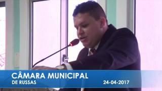 Rodolfo Nogueira em pronunciamento 25 04 2017