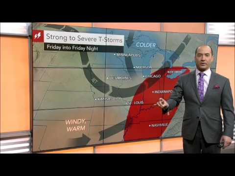 Disruptive storms to sweep into the eastern US
