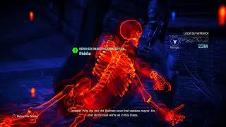 Batman Arkham City RTA 100% Hard Mode Walkthrough part 45, 720p HD (NO COMMENTARY)