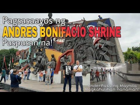 ANDRES BONIFACIO SHRINE | Underpass ng Maynila Nagkahulihan nanaman! from YouTube · Duration:  10 minutes 56 seconds