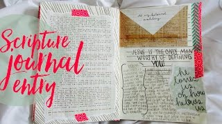 Scripture Journal Process + Encouragement for When You Feel Worthless