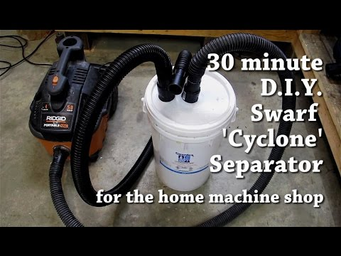 how to build a cyclone dust separator