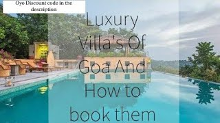 Goa's Luxury villas And How to Book Villa in Goa