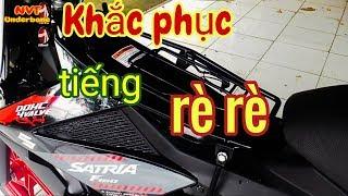 Gambar cover #10   Cách khắc phục tiếng rè rè trên ba ga Satria, Raider   NVT Underbone   Motovlog Việt Nam
