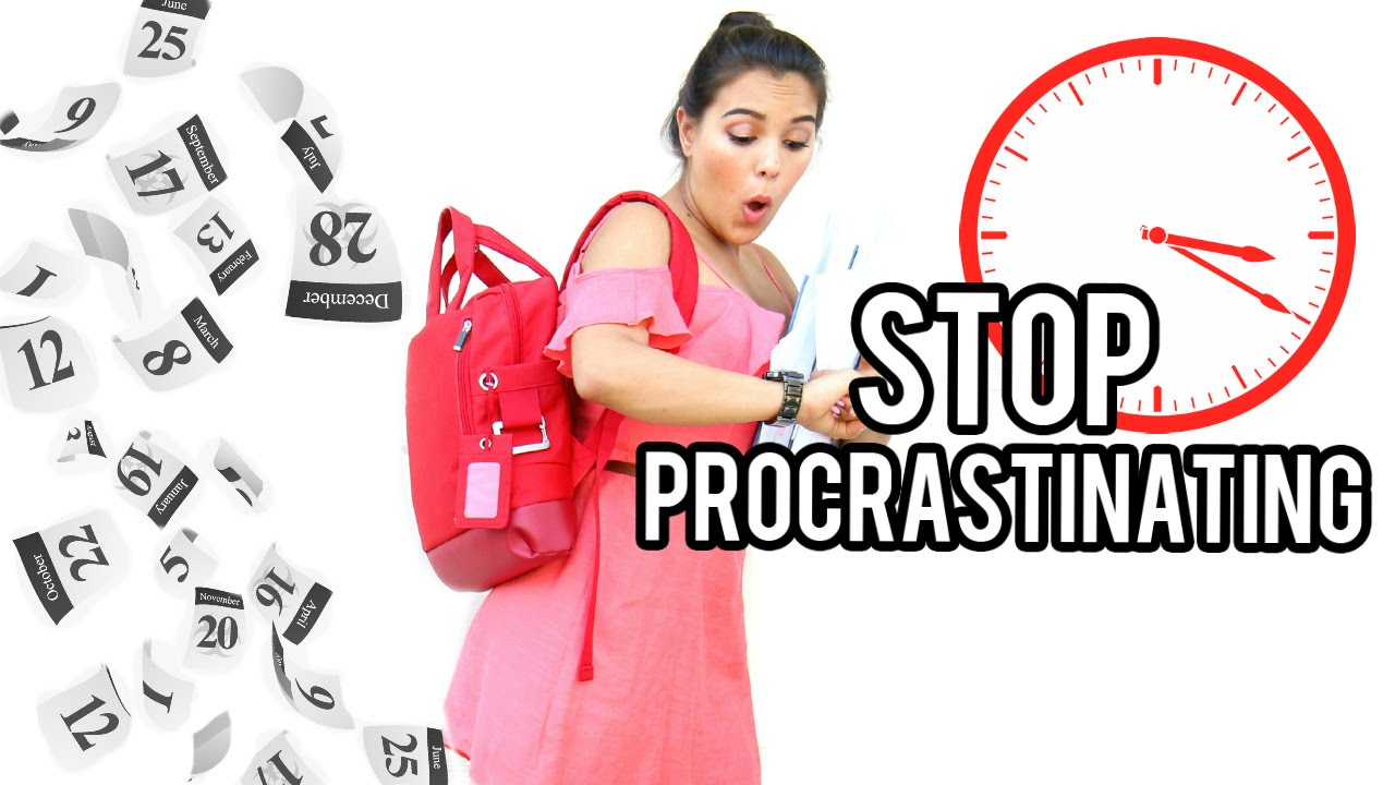 how to stop procrastinating youtube