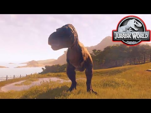 MY FIRST T-REX! - Jurassic World Evolution #10