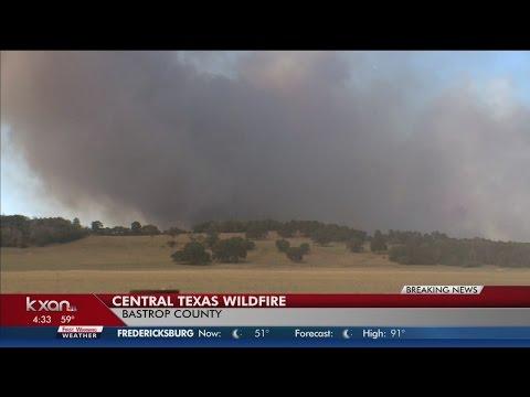 275 Acres Burned In Bastrop Fire