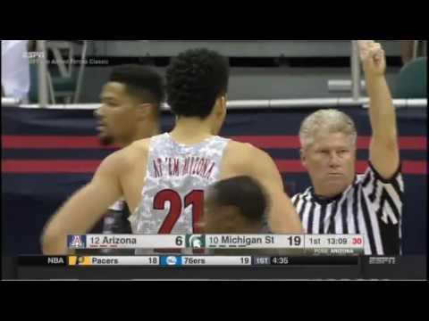 Armed Forces Classic-Arizona vs. Michigan State