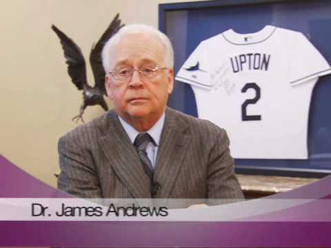 Dr. James Andrews At St. Vincent's OrthoSports Center Birmingham Alabama