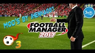 Football Manager 2017 MEGA mod True Football 3 By Jhenka007