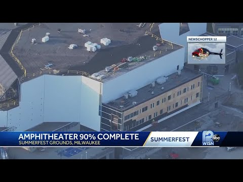American Family Insurance  Amphitheater On Summerfest Grounds, 90% Complete