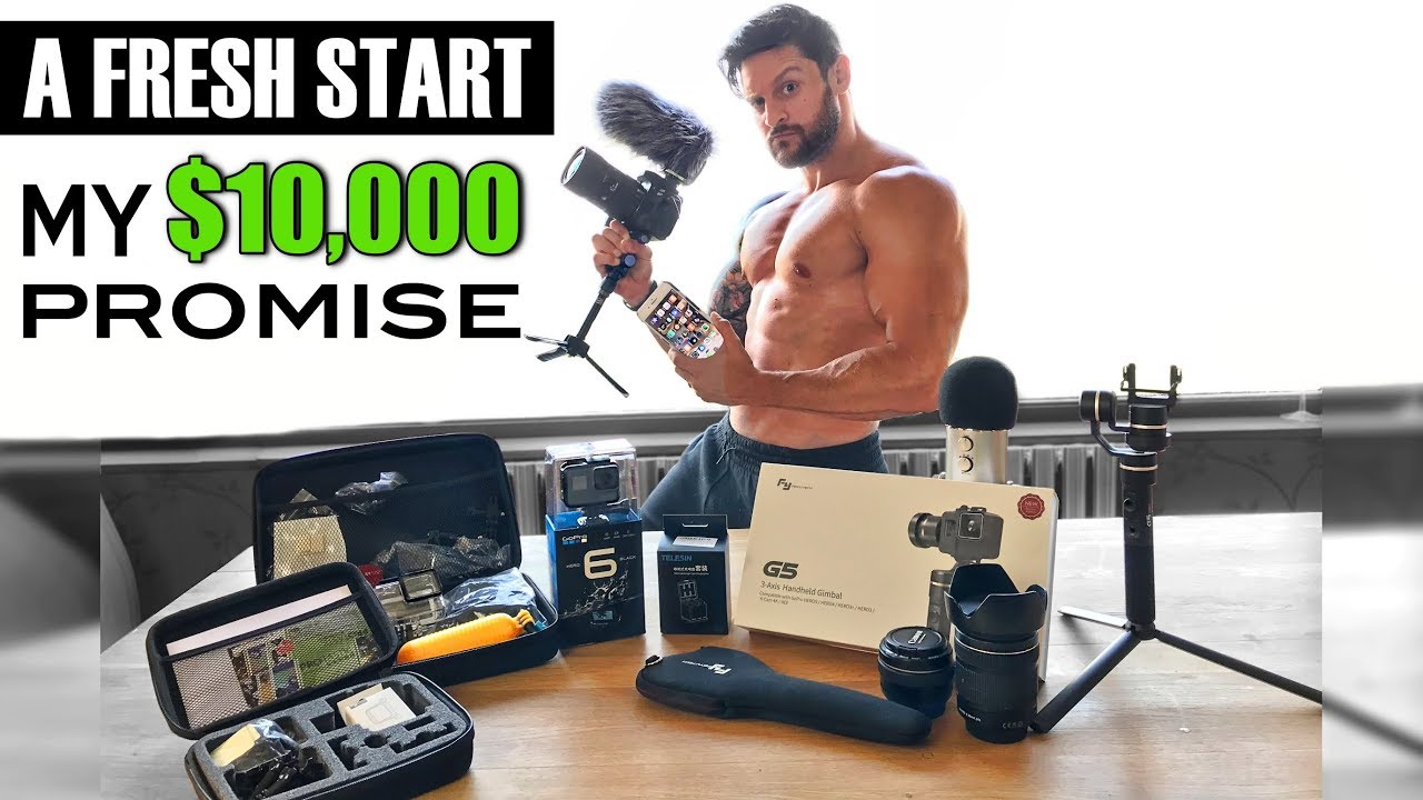 MY $10,000 RISK | New Channel Direction | New Kit Unboxing & More (Camera GoPro Gimbal) ad