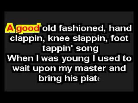 Karaoke-Sing me an old fashioned song.flv