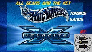 Hot Wheels Velocity X   Gameplay   Joyride   Turbine Sands   All Gears And Key