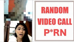 RANDOM VIDEO CALL P*RN (omegle funny video)