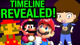 The TRUE Mario Timeline? (Super Mario Bros. Theory) - ConnerTheWaffle