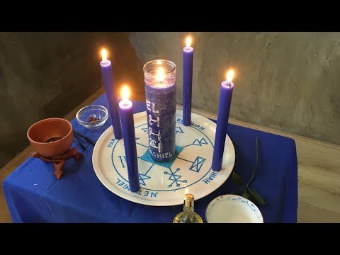 Kabbalistic Candle Magic Using The Key Of Solomon