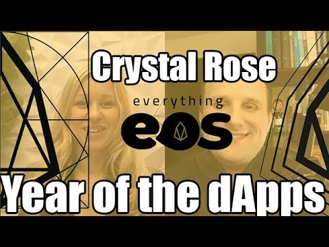 Everything EOS #46: Making Sense with EOS and Year of the dApps with Crystal Rose