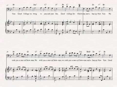 Trombone We Wish You A Merry Christmas Christmas Sheet Music