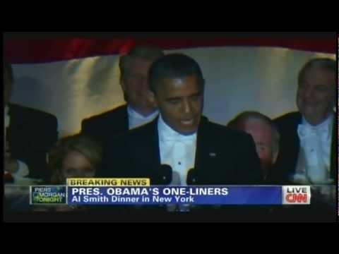 President Obama Alfred E. Smith Memorial Foundation Dinner New York (October 18, 2012)