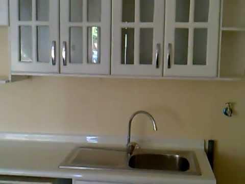 Muebles: Cocina Blanca , puertas lacadas - YouTube