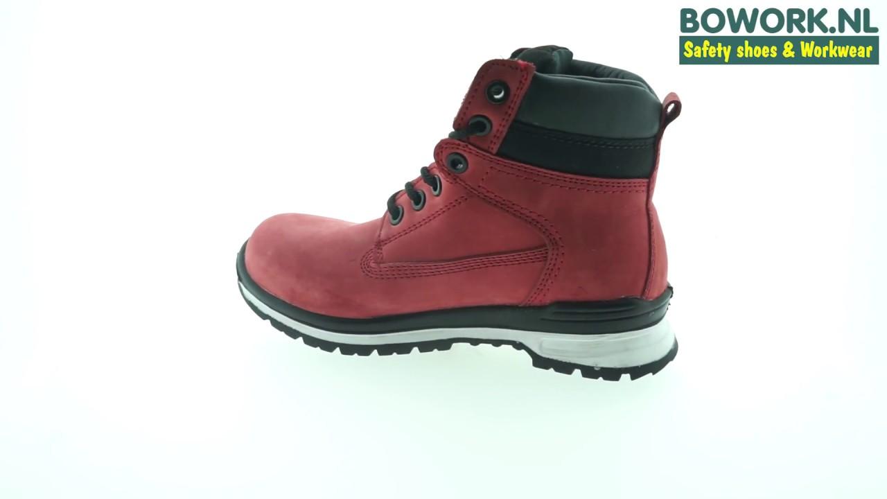 Werkschoenen Dames Roze.Dames Werkschoenen Lavoro Michele S3 Src Bowork Nl
