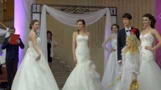Показ платьев от свадебного салона  МОН  АМУР