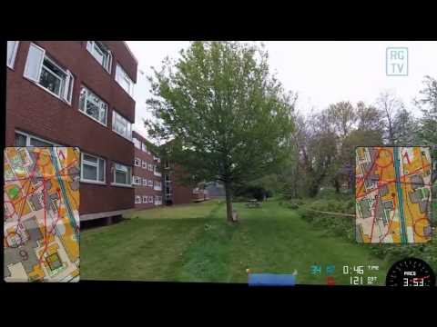 JK 2017 Day 1 - orienteering sprint at Brunel University (London)