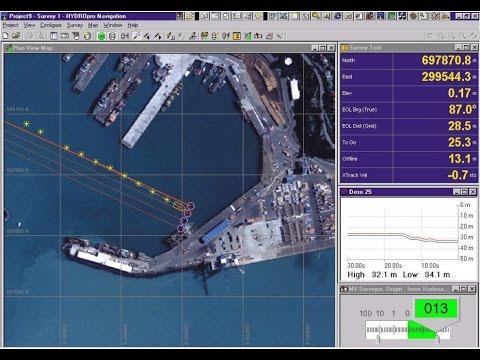 Khảo sát đo biển | Hướng dẫn sử dụng phần mềm đo sâu Hydro Pro Navigation phần 1/2