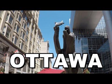 Ottawa, Canada | Street Walk (Canada's Capital City)