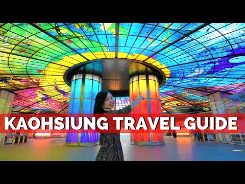 How to EXPLORE KAOHSIUNG in One day -  Kaohsiung Taiwan Travel Guide