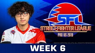 STREET FIGHTER LEAGUE: Pro-US 2019 - Week 6