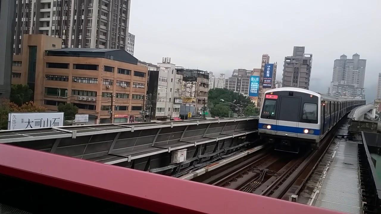 臺北捷運301型推進器改裝車(捷運奇巖站) - YouTube