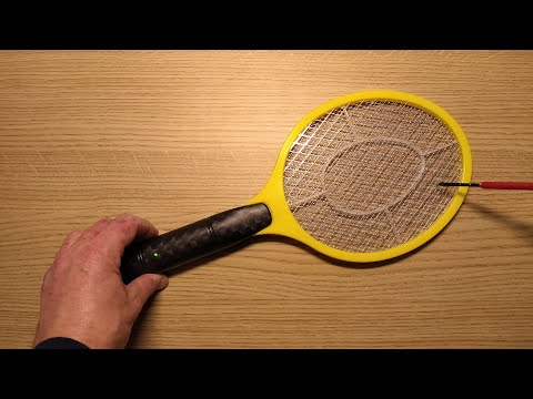 Inside Poundland's electric fly zapper bat.  (with schematic)